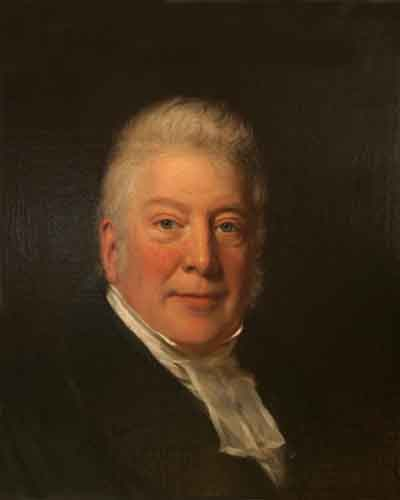 Original: Oil painting.Shows Rev. SKINNER, Rector of Kilmersdon. Portrait in Museum's collection. Unknown photographer.